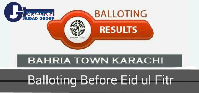 Bahria Town Karachi Announced Balloting Before Eid