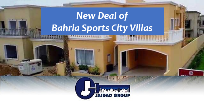 Bahria Sports City Villas New Deal Announced – Booking Details, Payment Plan