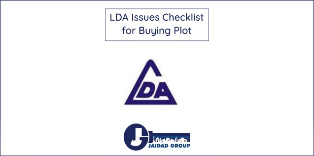 LDA Issues Checklist for Buying Plot in Lahore