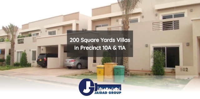 200 Square Yards Villas in Precinct 10A & 11A – Bahria Homes Karachi