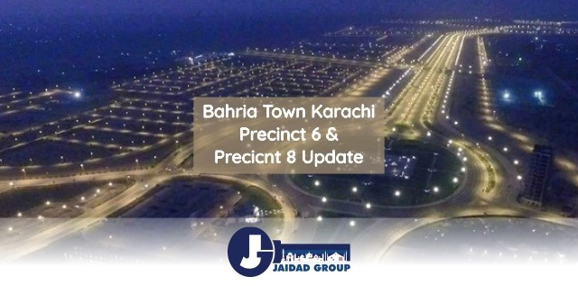Precinct 6 & 8 Bahria Town Karachi Update – Construction of Homes Started