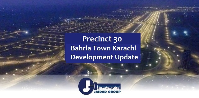 Bahria Town Karachi Precinct 30 – Development Completed & Possession Ready