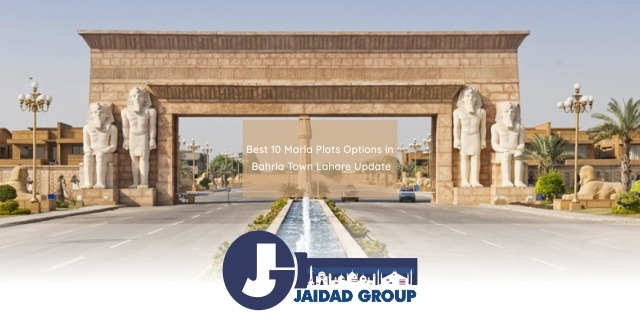 Best 10 Marla Plots Options in Bahria Town Lahore